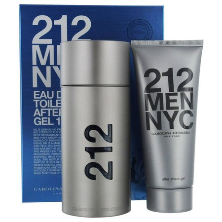 Carolina Herrera Mens 212 2 pc Gift Set