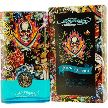 Ed Hardy Mens Hearts & Daggers Parfum Spray