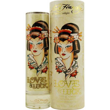 Ed Hardy Love & Luck Womens EDP Spray