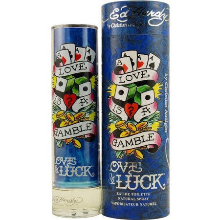 Ed Hardy Love & Luck Mens EDT Spray