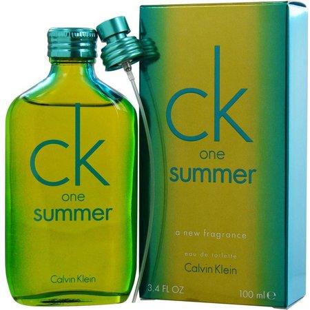 Calvin Klein Unisex CK One Summer EDT 3.4