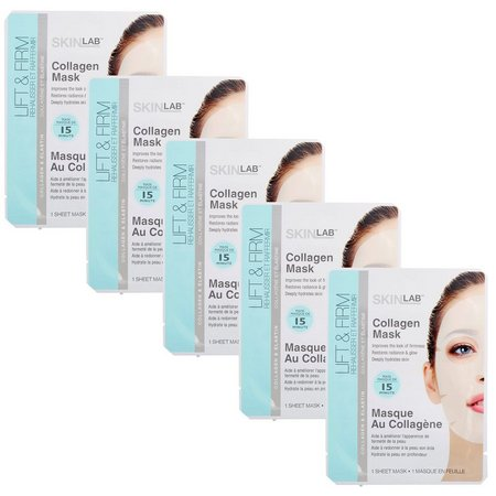 SKINLAB 5-pk. Collagen Sheet Mask Treatments