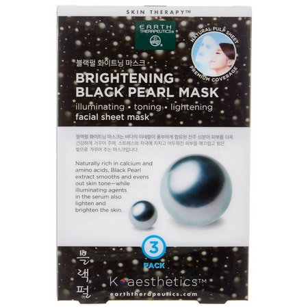 Earth Therapeutics Brightening Black Pearl Mask