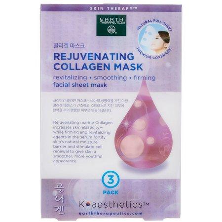 Earth Therapeutics Rejuvenating Collagen Mask