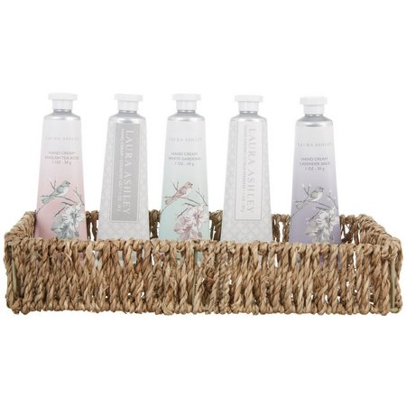 Laura Ashley 5-pc. Hand Creme & Basket Set