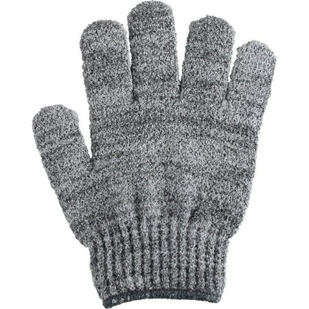 Spa Bella Charcoal Grey Bath & Shower Gloves