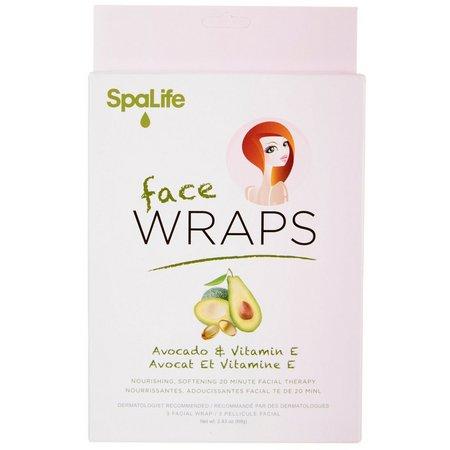 SpaLife Avocado & Vitamin E Face Wraps