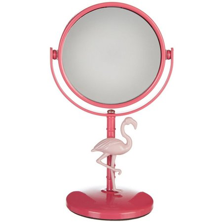 Danielle Flamingo Mini Beauty Mirror