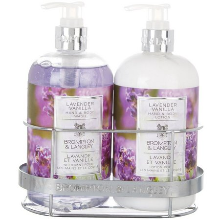 Brompton & Langley Lavender Vanilla Caddy Set