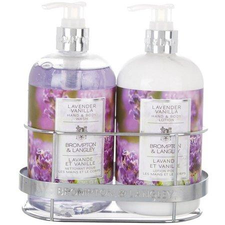Brompton & Langley Lavender Vanilla Caddy Set