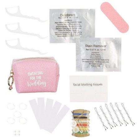 Jade & Deer Pink Bridal Emergency Kit