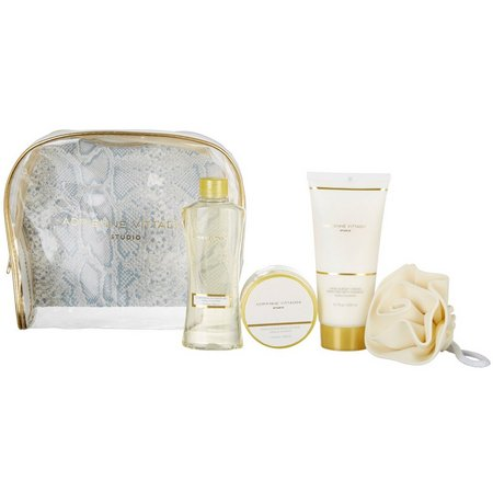 Adrienne Vittadini Studio Vanilla Almond Bath Set