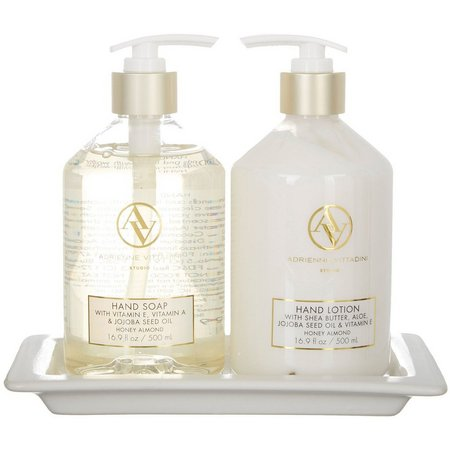 Adrienne Vittadini Honey Almond Hand Soap & Lotion