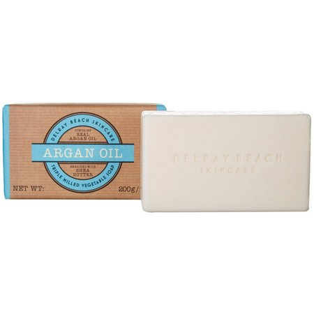 Delray Beach Skincare Argan Oil Bar Soap
