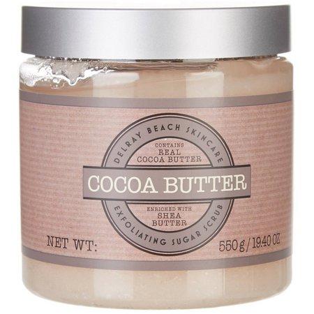 Delray Beach Skincare Cocoa Butter Sugar Scrub