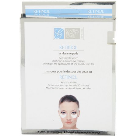 Global Beauty Care Premium Retinol Under Eye Pads