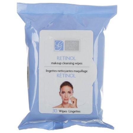 Global Beauty Care Premium Retinol Cleansing Wipes