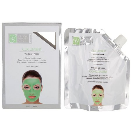 Global Beauty Care Premium Cucumber Wash-Off Mask