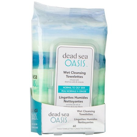 Dead Sea Origins Oasis Wet Cleansing Towelettes