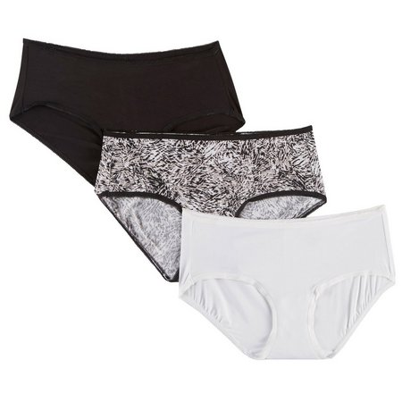 Jones New York 3-pk. Jungle Cat Hipster Panties