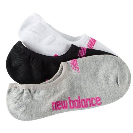 New Balance Womens 3-pk. Multi Core Liner Socks