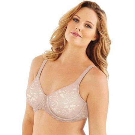 Lilyette Beautiful Support Lace Minimizer Bra 977