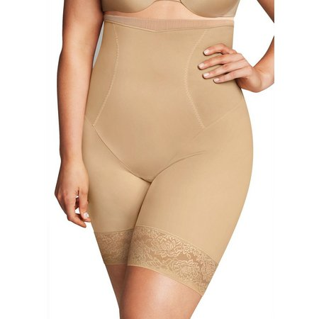 New! Maidenform Firm Foundations Thigh Slimmer Shorts