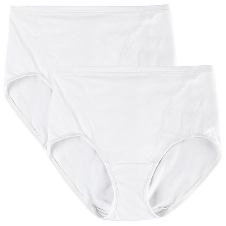 Bali 2-pk. One Smooth U Toning Brief Panties
