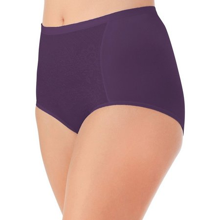 Vanity Fair Smoothing Comfort Lace Brief - 13262