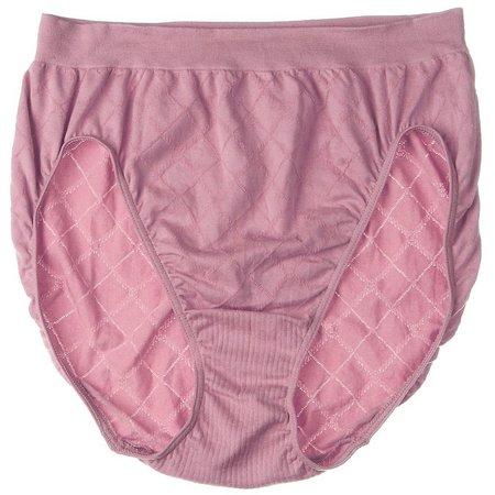 Bali Comfort Revolution Diamond Hi Cut Brief Panty