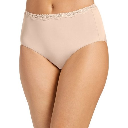 Jockey No Panty Line Lace Hip Brief Panties
