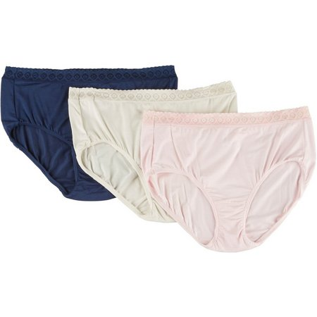 Jockey 3-pk. Supersoft Lace Briefs - 2103