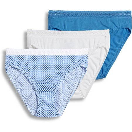 Jockey 3-pk. Supersoft Lace French Cut Panties