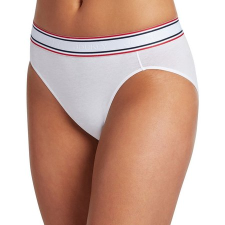 Jockey® Retro Stripe Hi-Cut Panties 2254
