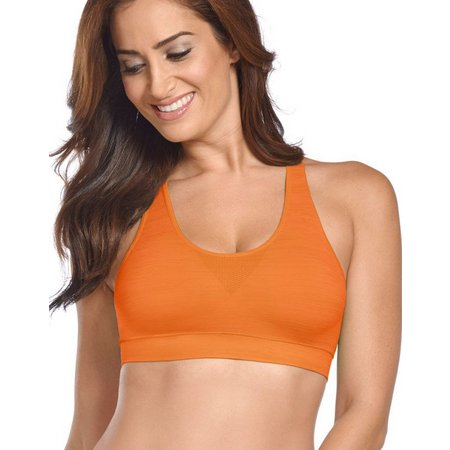 Jockey Seamfree Heather Crop Bra