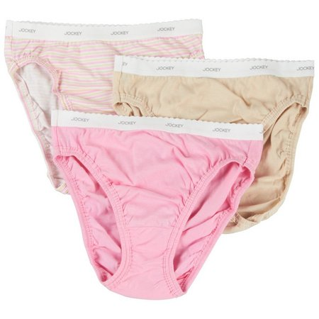 Jockey 3-pk. Classic French Cut Panties
