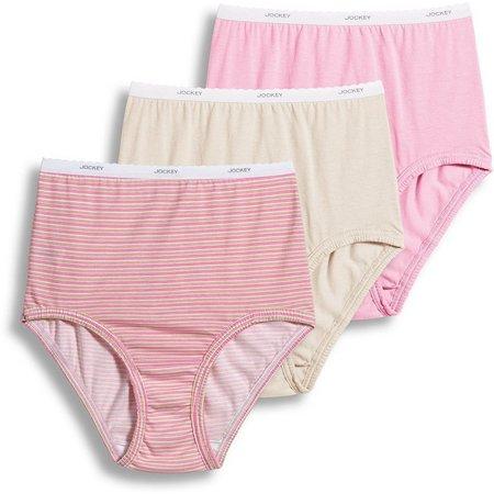 Jockey 3-pk. Classic Brief Panties 9482