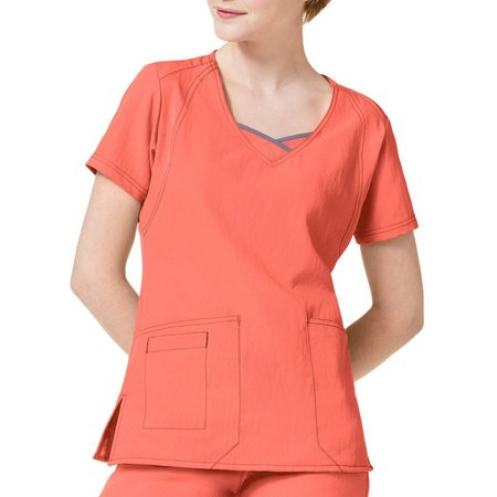 WonderWink Womens Curve Centric Scrub Top