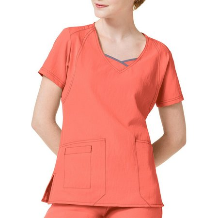 WonderWink Plus Curve Centric Scrub Top