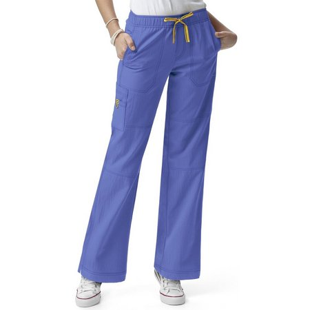 WonderWink Petite Four Stretch Cargo Scrub Pants