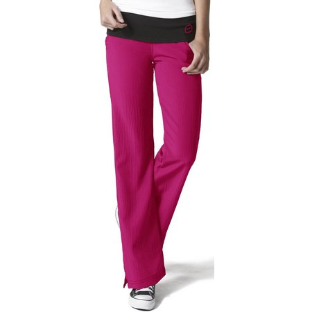 WonderWink Plus Fold Over Knit Waist Scrub Pants