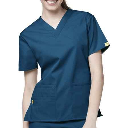 WonderWink Plus Origins Bravo 5 Pocket Scrub Top