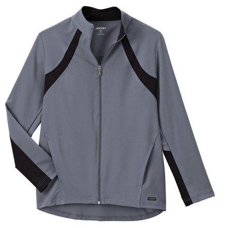 Jockey Womens Athletic Contrast Scrub Jacket