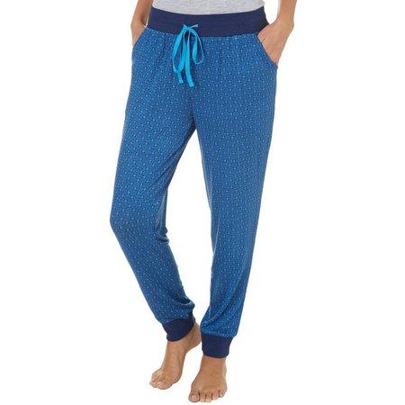 Maddie & Coco Juniors Circles Jogger Pajama Pants