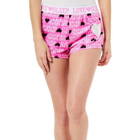 Mentally Exhausted Juniors Love Sleep Soft Pajama Shorts