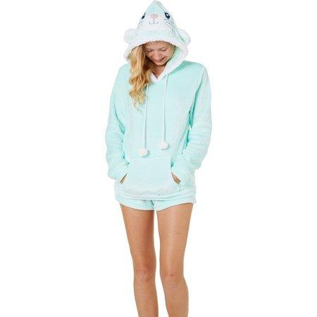 Em & Alfie Juniors 2-pc. Critter Pajama Shorts