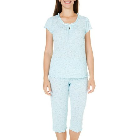 Jaclyn Intimates Womens Keyhole Pajama Set