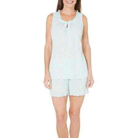 Jaclyn Intimates Womens Playful Dot Pajama Set