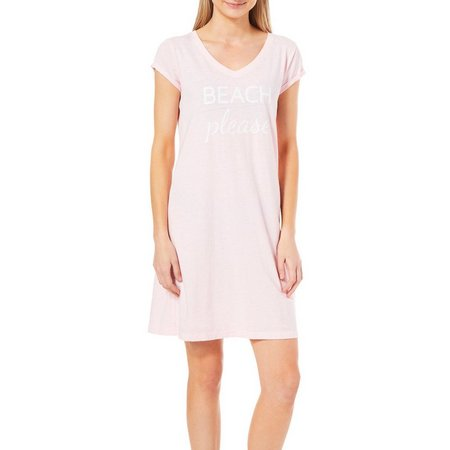 Jaclyn Intimates Womens Beach Please Nightgown