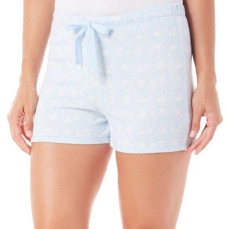 Jaclyn Intimates Womens Elephant Pajama Shorts